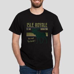 Isle Royale Moose National Park Dark T-Shirt