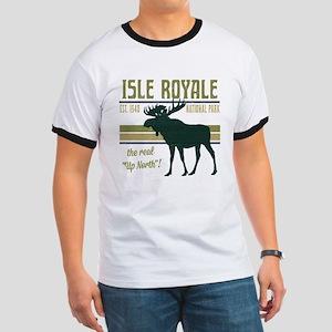 Isle Royale Moose National Park Ringer T