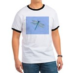 Dragonfly Blue Ringer T