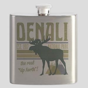Denali National Park Moose Flask
