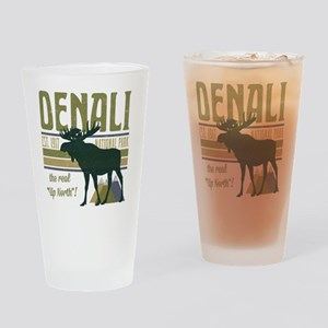Denali National Park Moose Drinking Glass