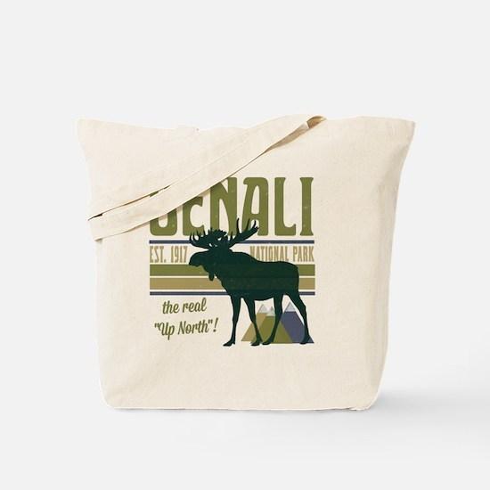 Denali National Park Moose Tote Bag