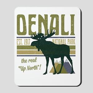 Denali National Park Moose Mousepad