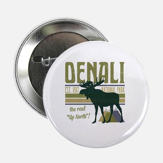 "Denali National Park Moose 2.25"" Button"