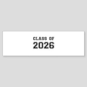 Class of 2026 Bumper Sticker