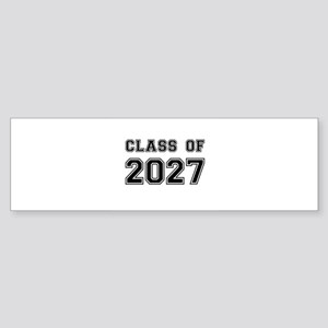 Class of 2027 Bumper Sticker
