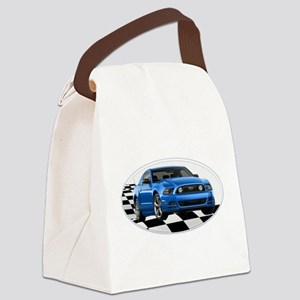 GB14MustangGT Canvas Lunch Bag