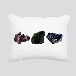 Mineralogy Rectangular Canvas Pillow