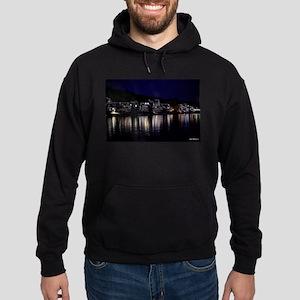 Philadelphia Boathouse Row, Nightvie Hoodie (dark)