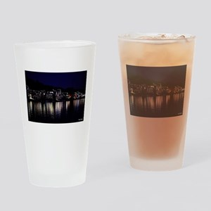 Philadelphia Boathouse Row, Nightvi Drinking Glass