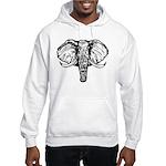 Elephant Hooded Sweatshirt