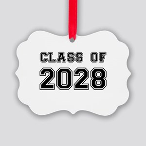Class of 2028 Picture Ornament