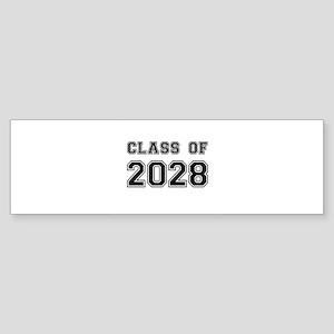 Class of 2028 Bumper Sticker