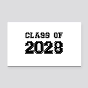 Class of 2028 Rectangle Car Magnet