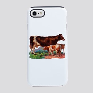 Cow And Calf Iphone 8/7 Tough Case