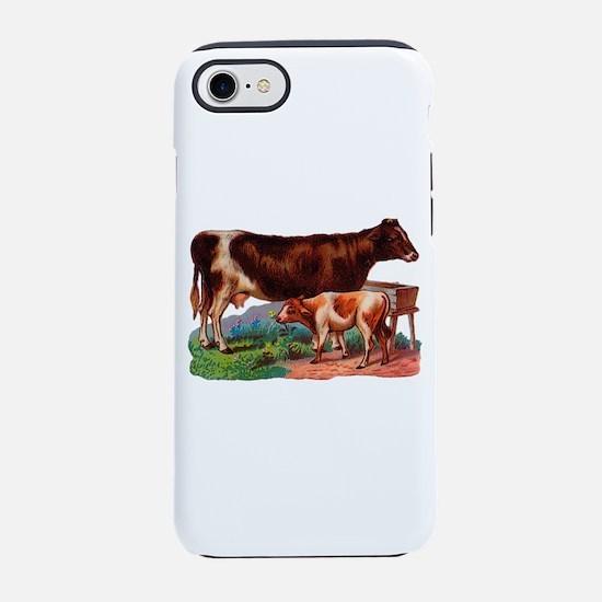Cow And Calf Iphone 8/7 Tough Case