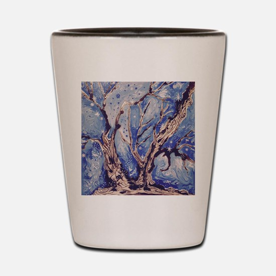 Enchanted Wood Shot Glass