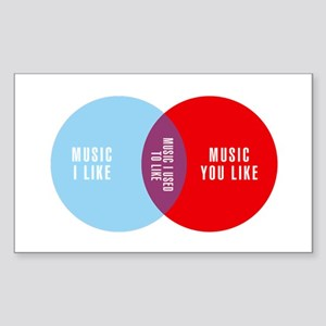 Music Elitism Sticker