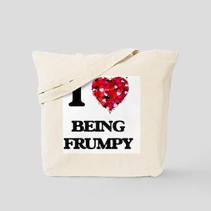 I Love Being Frumpy Tote Bag