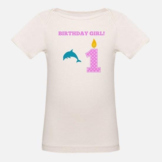 Birthday Girl Dolphin T-Shirt