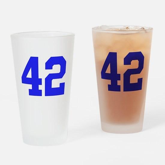 42 Drinking Glass