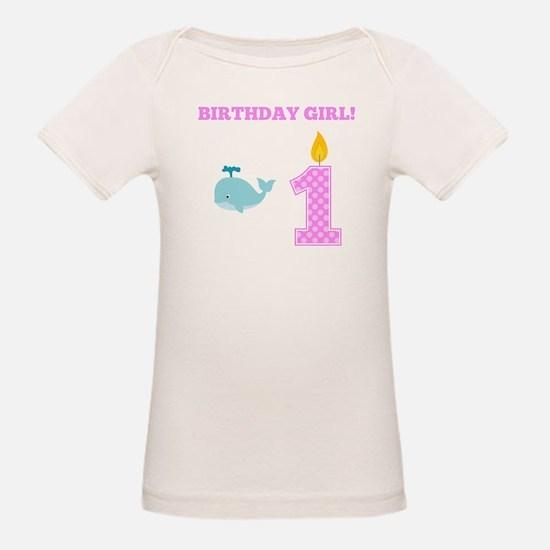 Birthday Girl Whale T-Shirt