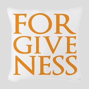 Forgiveness Woven Throw Pillow