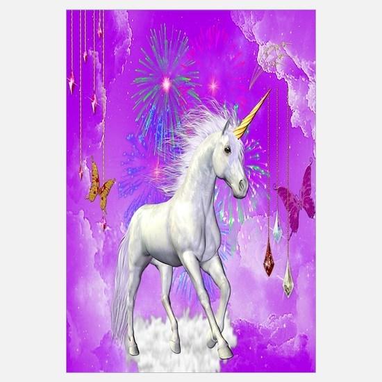 Cute Unicorn art Wall Art