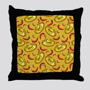 Food and Festivities Throw Pillow