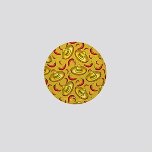 Food and Festivities Mini Button