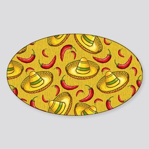 Food and Festivities Sticker (Oval)