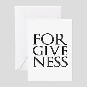 Forgiveness Greeting Cards