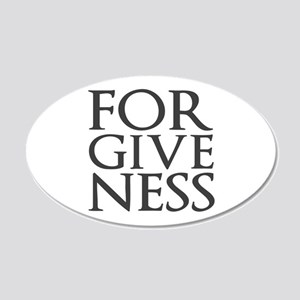 Forgiveness Wall Decal
