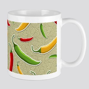 Raining Peppers Mug