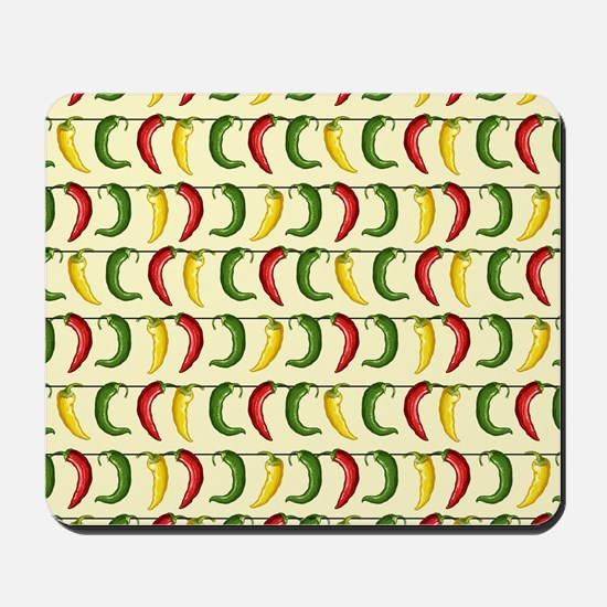 String of Chilies Mousepad