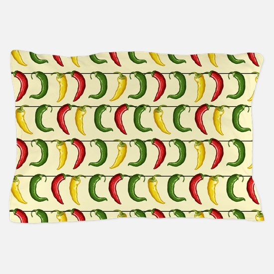 String of Chilies Pillow Case