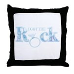 I Got The Rock Throw Pillow