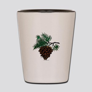 NEW! Fir Limb Shot Glass