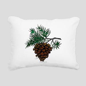 NEW! Fir Limb Rectangular Canvas Pillow