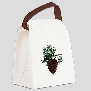 NEW! Fir Limb Canvas Lunch Bag