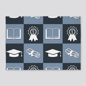 Graduate With Honors 5'x7'Area Rug
