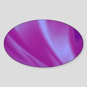 Veils of Purple Fractal Sticker