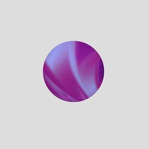Veils of Purple Fractal Mini Button