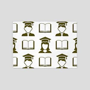 Graduating Class 5'x7'Area Rug
