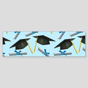 Caps and Diplomas Sticker (Bumper)