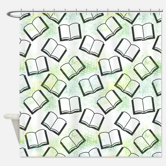 Shaded Study Shower Curtain