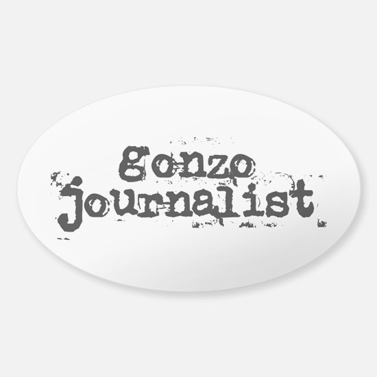 gonzo journalist Decal