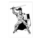 Knight Postcards (Package of 8)