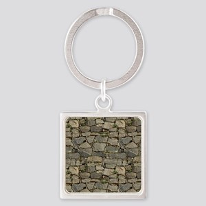 English Farmhouse Square Keychain