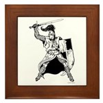 Knight Framed Tile